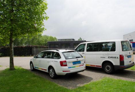 Van Driel auto-Scoda-bus-VW
